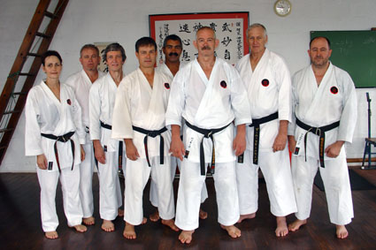5th dan sensei's and up