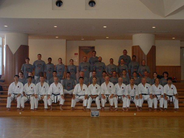 Budosai 2004 SA group
