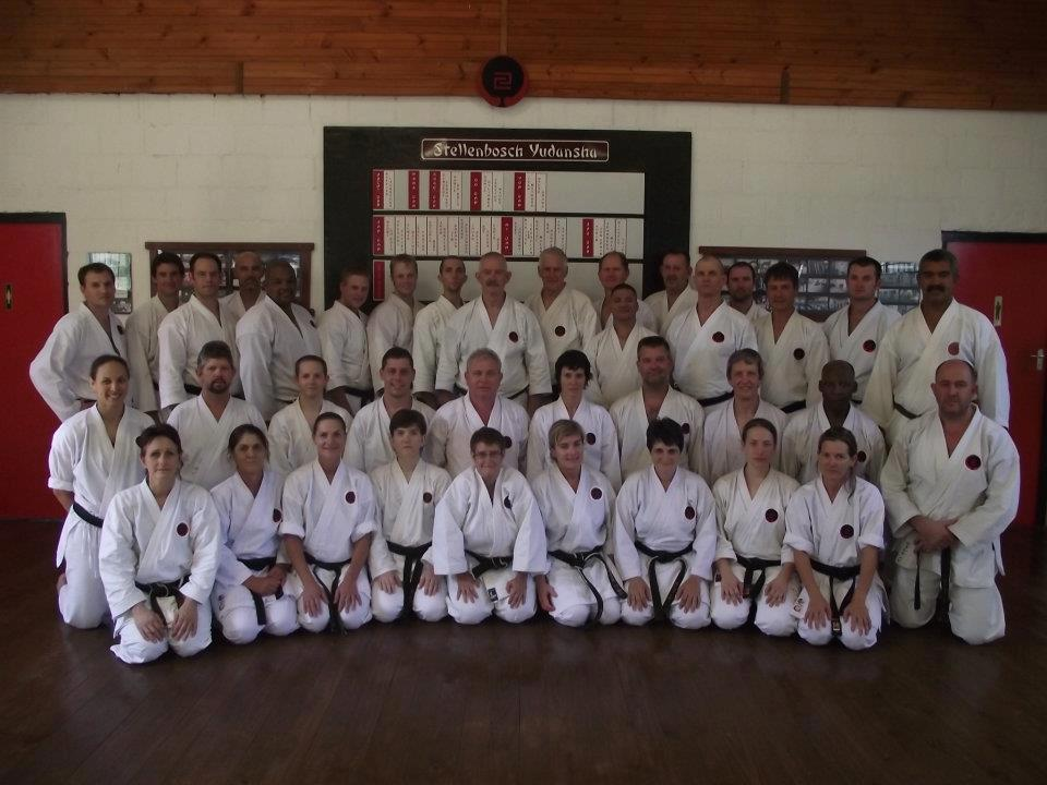 March 2012 Instructors gasshuku Stellenbosch